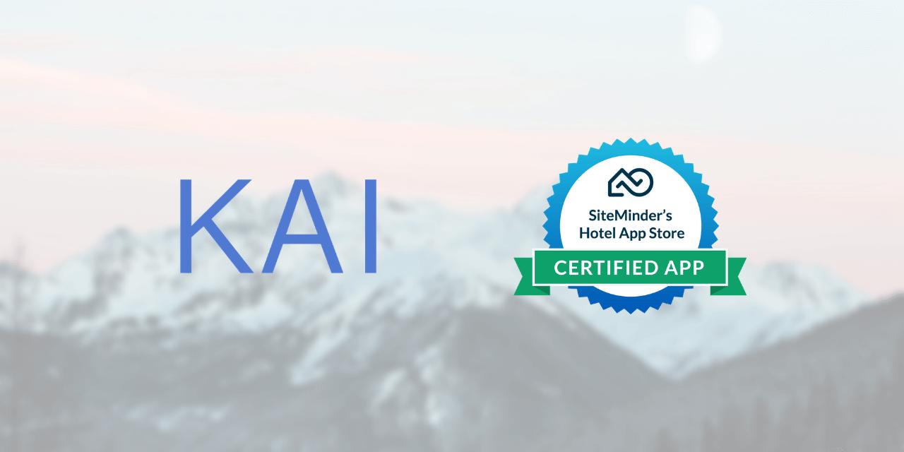 KAI - SiteMinder Hotel App